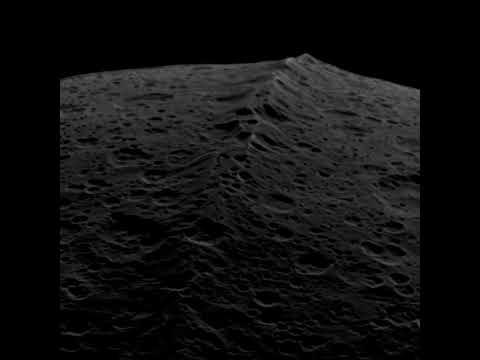 Cassini: Flight Over Iapetus (2007.09.27) [720p]