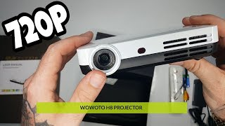 Wowoto H8 Review | Portable Wifi Bluetooth Projector