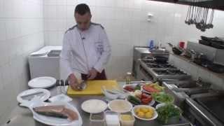 4.Hotel TROFTA - Peshk me sos hudhra dhe rozmarinë