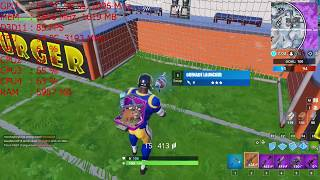 The GT 730 2gb Gddr5 on Fortnite with an i5 2400 at 1080p, 720p & stretched res