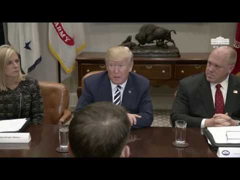 President Trump Hosts a Law Enforcement Roundtable on Sanctuary Cities