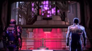 Mass Effect 3: Omega - Reactor Controls, Bad Shepard, Petrovsky Cutscene HD Gameplay PS3