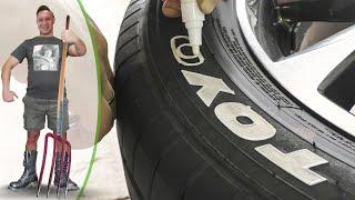 видео Краска для шин автомобиля: покраска покрышек