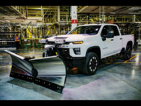 2020 Chevy Silverado HD High Country Walk Around