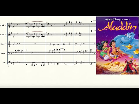 Friend Like Me from Aladdin for Brass Quintet