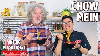 James May Cooks a Simple Chow Mein! @FoodTribe  Wok Wednesdays