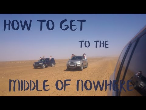MOROCCO: Racing 4x4s into the Sahara