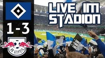DFB Pokal Halbfinale | HSV vs RB Leipzig | Live im Stadion | MarcSarpei