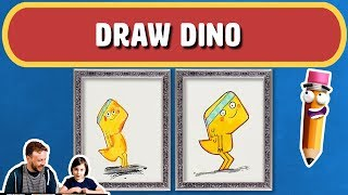 How to draw Cupcake & Dino: General Services   Art for Kids   Magic Pencil