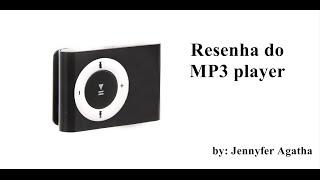 resenha do mp3 player tipo ipod