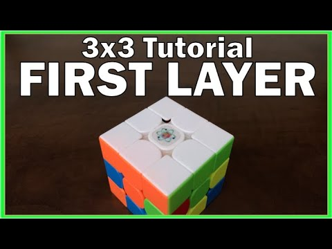 How to Solve the 3x3 Rubik's Cube - First Layer - Beginner Method