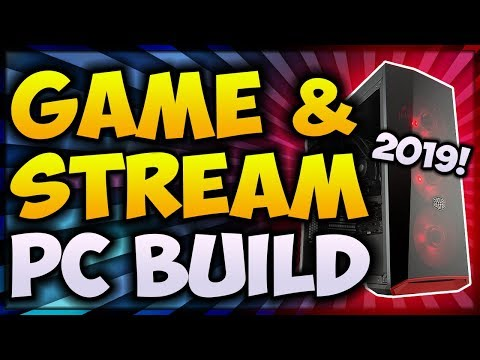*NEW* BEST Gaming PC Build 2019! (READY FOR STREAMING) 🔴 PC Build For Streaming and Gaming!