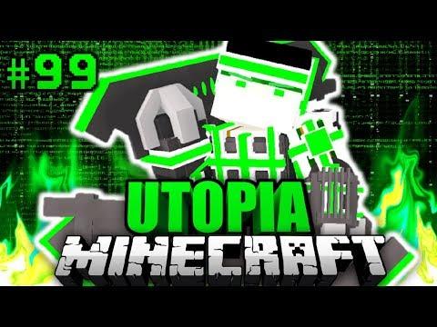 DAS ist MEINE FINALE FORM?! - Minecraft Utopia #099 [Deutsch/HD]