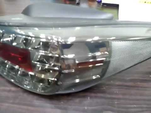 Hyundai 2011 Elantra Avante Md Limited Edition Black Bezel Led Tail Lamp Light Youtube