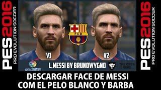 PES 2016   Preview Face de Messi   V2 16/17 HD
