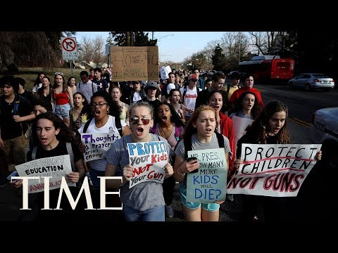 National Student Walkout Day: Thousands Of Students & Teachers Protest Gun Violence In The US | TIME