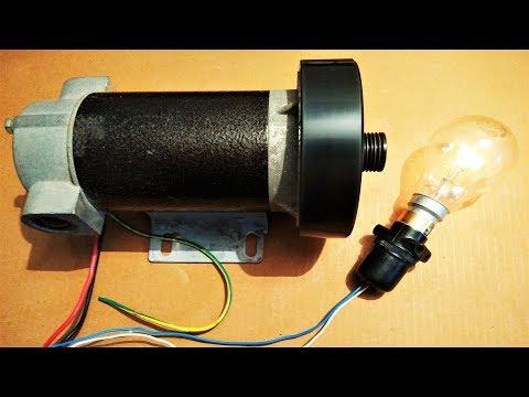 250 Watt DC Generator using small DC motor DIY - Amazing idea 2018