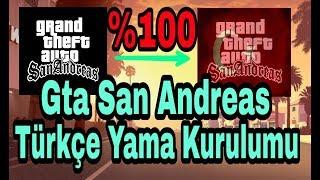 Gta San Andreas Türkçe Yama Nasıl Yapılır ? | ANDROİD %100 Çözüm |
