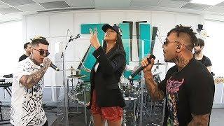 LINO GOLDEN x ANTONIA x ALEX VELEA - PANAMERA ROCK (Live la Radio ZU)