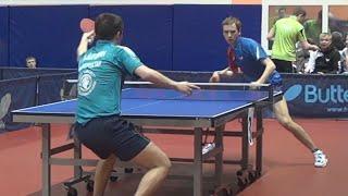 Андрей БАЙБУЛДИН vs Александр ШИБАЕВ, Чемпионат России, Настольный теннис, Table Tennis