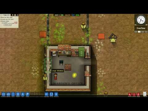 Robbaz Twitch Stream 010317: Prison Architect
