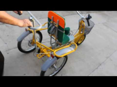 Веломобиль велосипед для детей с ДЦП