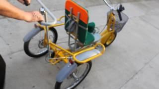 видео Купить велосипеды для детей с ДЦП. Трехколесные велосипеды для взрослых инвалидов. Цены. Отзывы