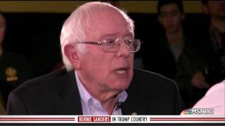 Bernie Sanders: Donald Trump Supporters Aren
