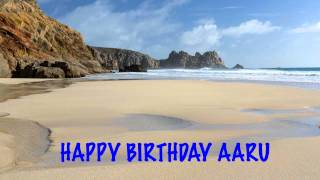 AaruIN  indian pronunciation   Beaches Playas - Happy Birthday