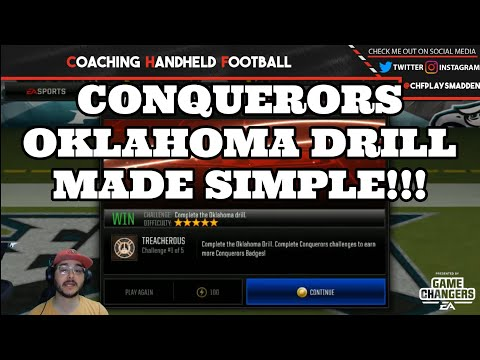 HOW TO CRUSH THE CONQUERORS OKLAHOMA DRILL EXTREMELY DIFFICULT LIVE EVENT!
