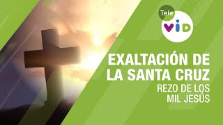 Rezo de los mil Jesús, Exaltación de la Santa Cruz, 3 de mayo 2020 - Tele VID