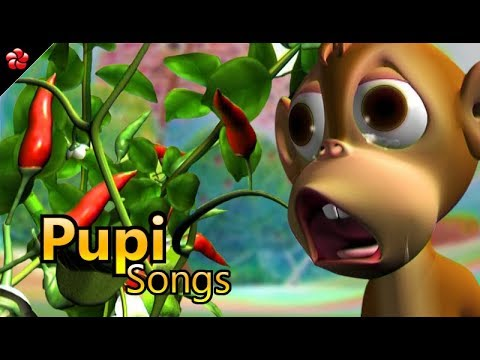 PUPI 2 Songs for kids ♥ Malayalam cartoon songs for children