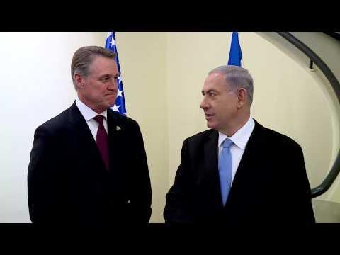 PM Netanyahu Meets with Senator David Perdue