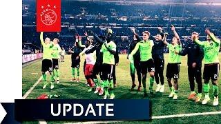 Nagenieten van de thriller Schalke - Ajax