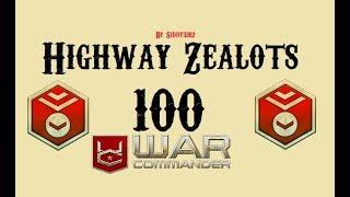 War Commander - Highway Zealots (100) 100,000 Medals! Best Way?