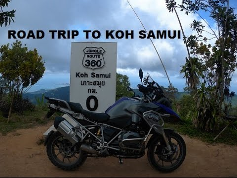 Motorcycle roadtrip (Singapore to Koh Samui, Thailand)
