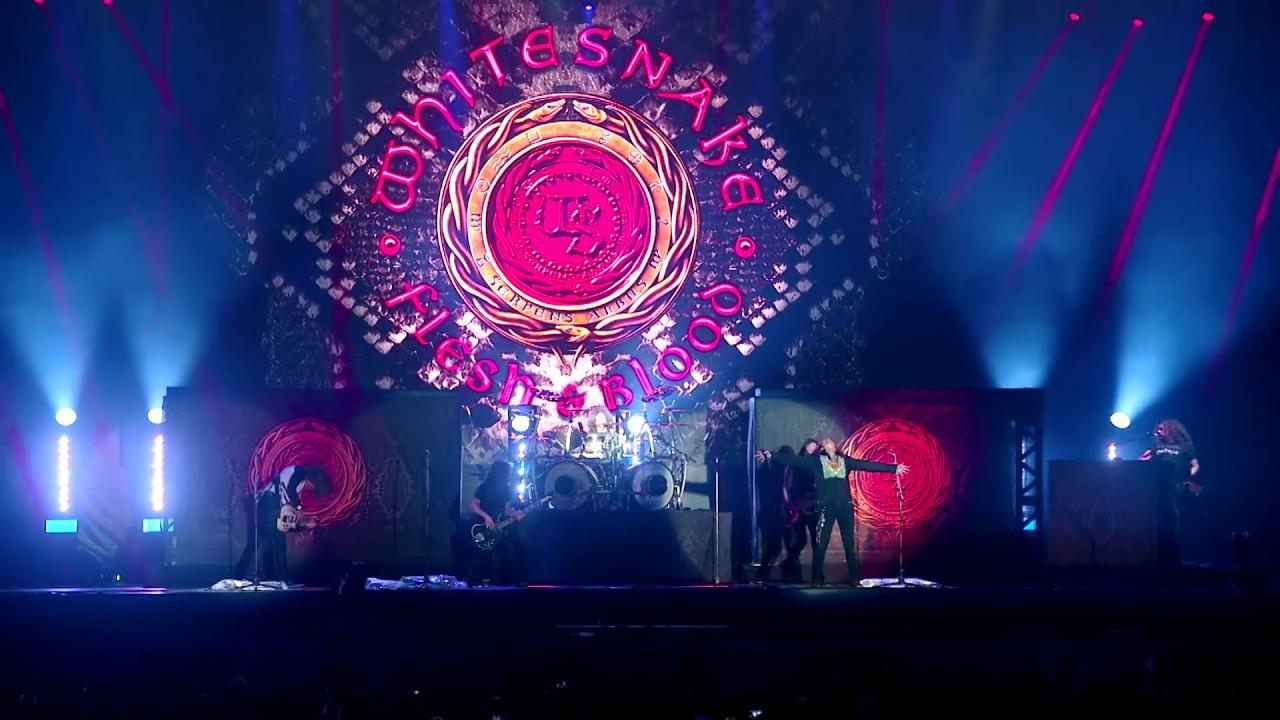 Resultado de imagem para Whitesnake lança clipe ao vivo com imagens registradas no Brasil
