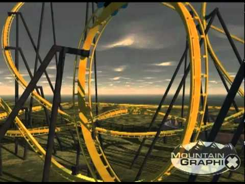 Mountain Graphix: Rollercoaster Accident