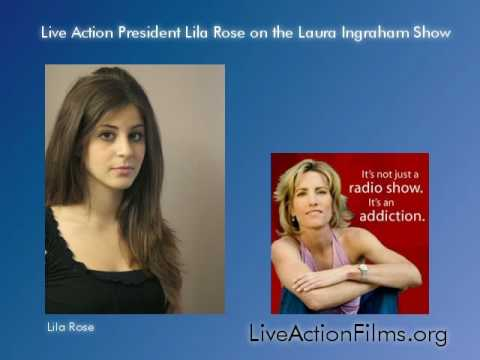 Lila Rose on the Laura Ingraham Show Discussing Undercover Investigation (part 1 of 2)