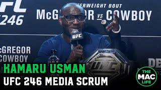 Kamaru Usman talks Conor McGregor,  Jorge Masvidal and more