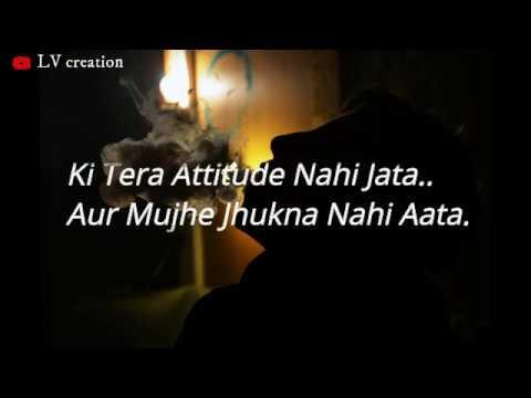 Killer Attitude Status For Boys | Breakup Motivation | Attitude Shayari |  Attitude Status In Hindi