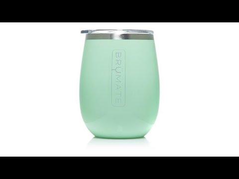 4a33d713cf9 BrMate Uncork'd 14 oz. Insulated Wine Glass - YouTube