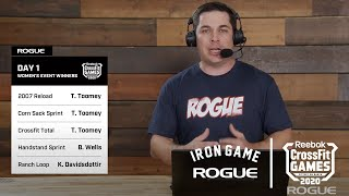 Rogue Iron Game Show - Day 1, Episode 5 | Live At The 2020 Reebok CrossFit Games