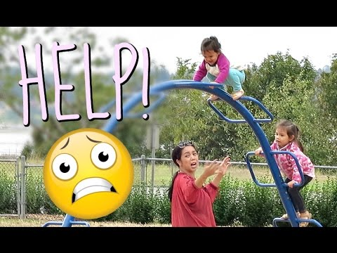 HELP! MIYA GETS STUCK - August 21, 2016 -  ItsJudysLife Vlogs thumbnail