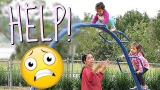HELP! MIYA GETS STUCK - August 21, 2016 -  ItsJudysLife Vlogs