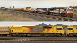 SCT PM9 Transfering Two Aurizon 6020 Class Locomotives - PoathTV