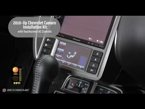 Scosche 2010 - Up Chevrolet Camaro Installation Kit With Touchscreen AC Controls