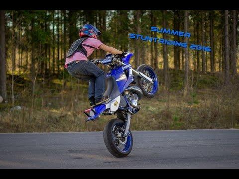 Summer Stuntriding 2016    Yamaha DT 170cc