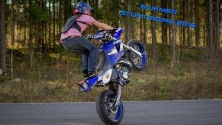 Summer Stuntriding 2016 || Yamaha DT 170cc