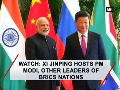 Watch: Xi Jinping hosts PM Modi, other leaders of BRICS nations - ANI News